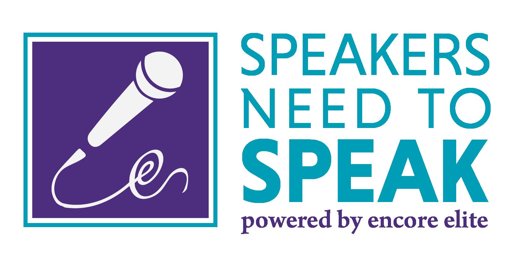 Speakers Need To Speak